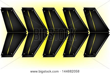 dark background, abstract - vector illustration, dark quadrangle