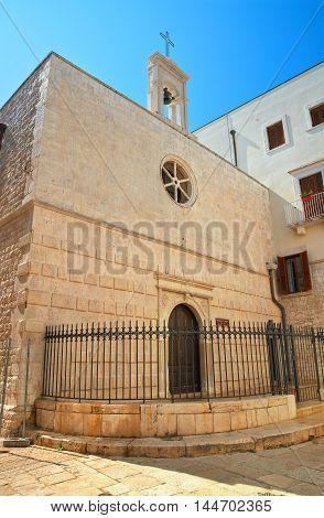 Church of St. Andrea. Molfetta. Puglia. Italy.