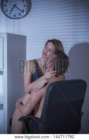 Having Sex At Work