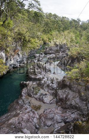 Vicente Prez Rosales National Park is located in Los Lagos Region Llanquihue Province of Chile. Its western entrance is close to the Ensenada locality 82 km (51 mi) northeast of the provincial capital of Puerto Montt and 64 km (40 mi) from Puerto Varas al