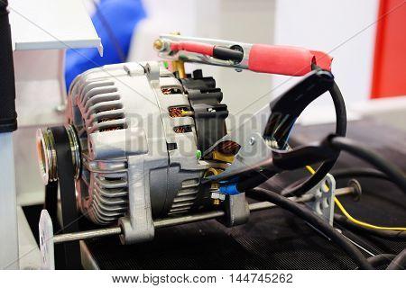 The image of generator diagnostic eguipment