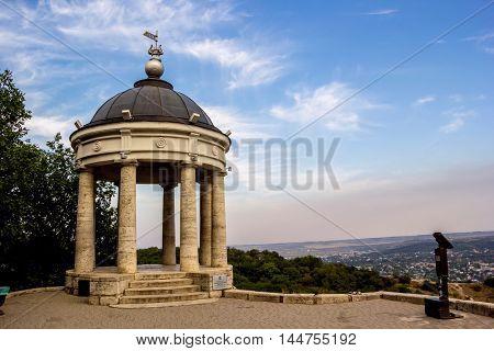 city architecture, sight, Aeolian harp, Pyatigorsk, landscape