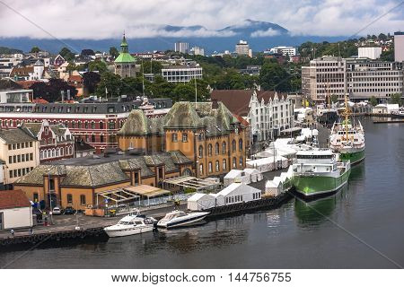 Architectural Structures Of Stavanger, Norway