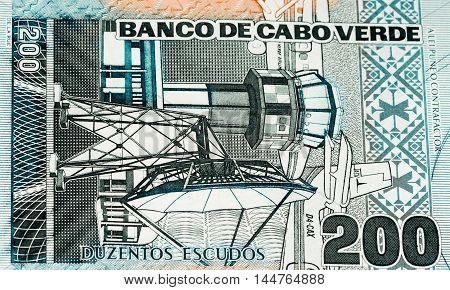 200 escudos of Cabo Verde. Cape Verdean escudos is the main currency of Cape Verde