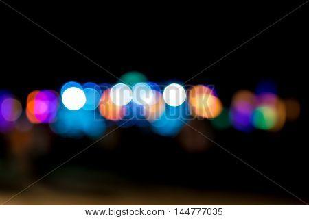 Bokeh Light Color.