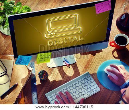 Communication Digital Computer Media Graphic Concept