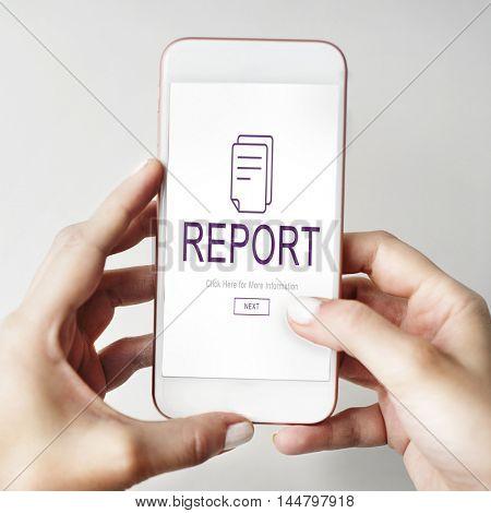 Report Digital Homescreen Concept