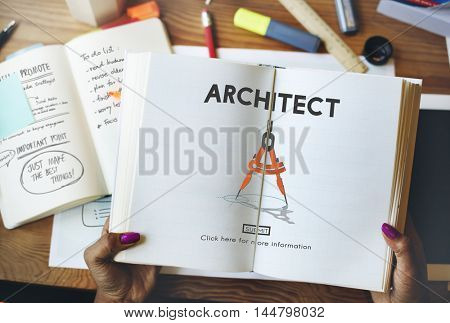 Architect Architecture Design Infrastructure Construction Concept