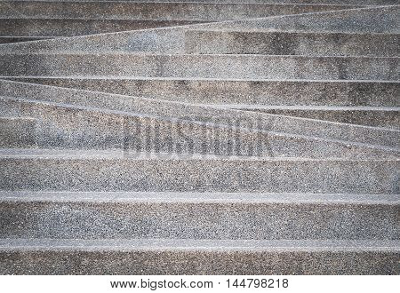 Stairway outdoor, landscape architecture and background design