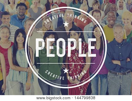 People Diversity Humanity Population Society Ethnic Concept