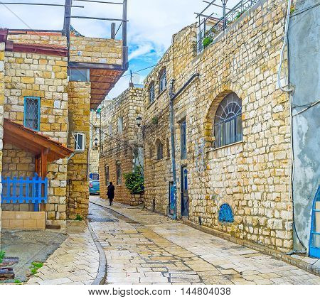 Discovering the Holy Judaism's City the highest one in Galilee and Israel.