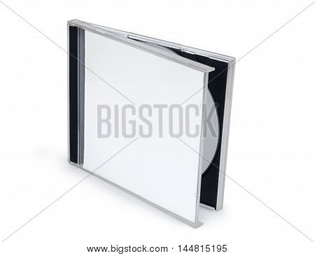 Cd Packaging Template isolated on a white background