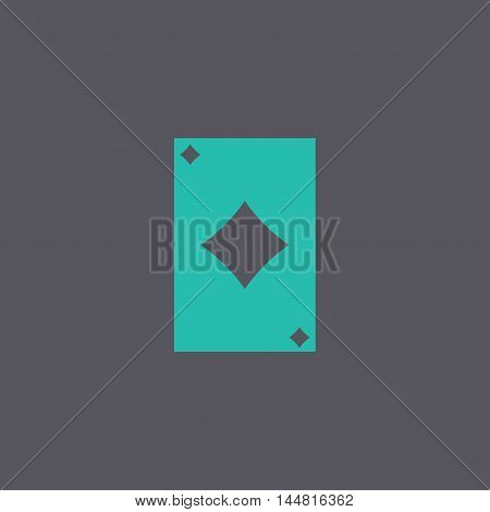 Vector Playing Card Suit Icon Symbol Set.