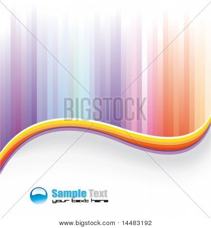 Abstract Rainbow colorful Background for Business Flyer