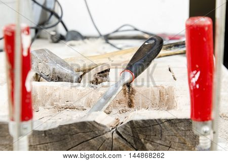 joinery tools - making wooden box myself