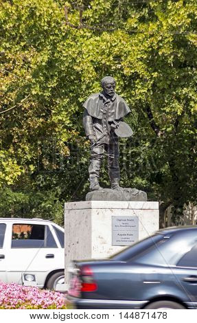 YEREVAN, ARMENIA - AUGUST 192016:Auguste Rodin (1840-1917) sculptor was one of the giants of French cultural at the turn of the century on August 19,2016 Yerevan,Armenia.