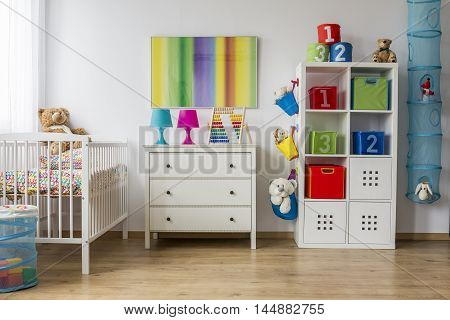 Baby Room Full Of Colours
