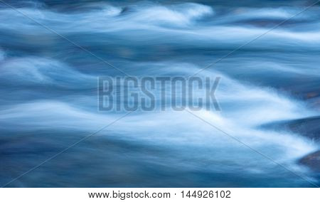 abstract movement of river water flow texture