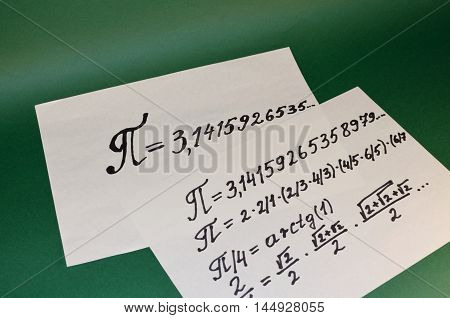 The value of the mathematical sign for