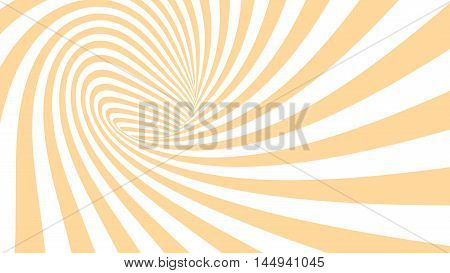 3d vector striped spiral abstract tunnel background. Spiral funnel. Twisted rays. Striped tunnel. Spiral hole. Vector illustration.