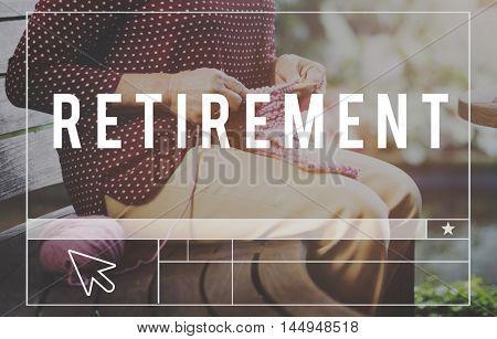 Retirement Insurance Lifestyle Pension Concept