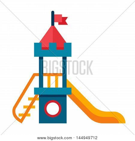 Illustration Of A Children Slide