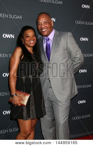 LOS ANGELES - AUG 29:  Yuri Brown, Guest at the Premiere Of OWN's