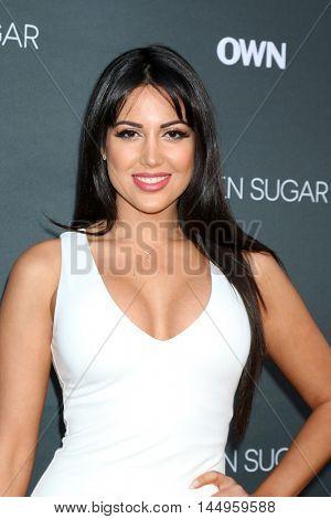 LOS ANGELES - AUG 29:  Estrella Nouri at the Premiere Of OWN's