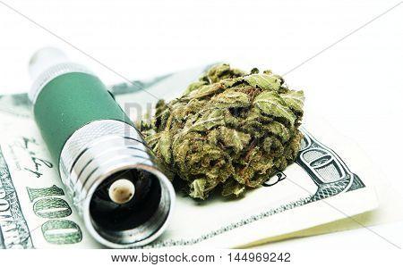 Marijuana Electronic-cigarette