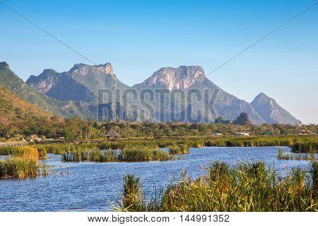 Mountain at Khao Sam Roi Yot National Park,Thailand