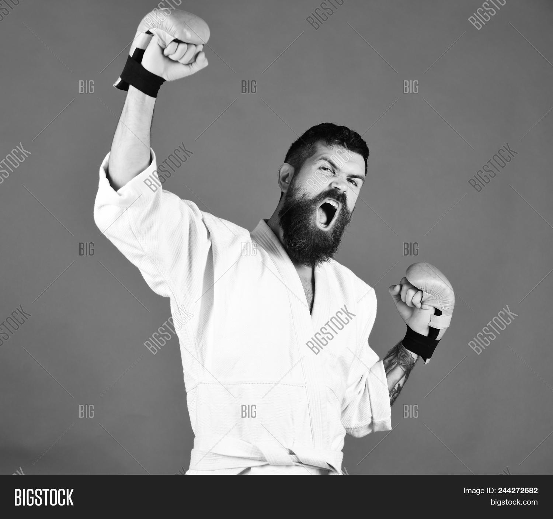 Winner Karate  Karate Image & Photo (Free Trial)   Bigstock