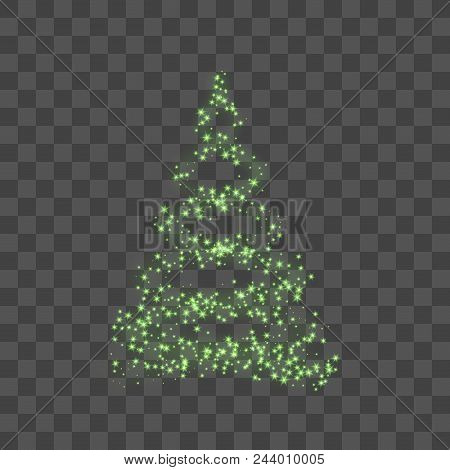 Christmas Tree On Vector Photo Free Trial Bigstock