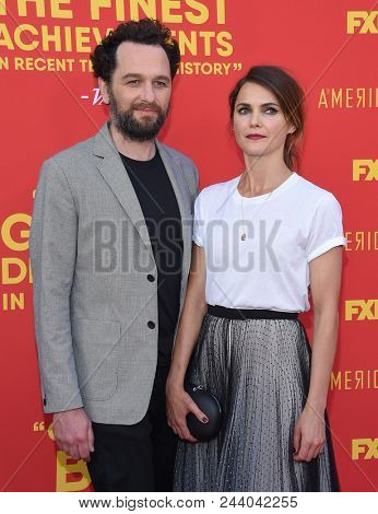 LOS ANGELES - MAY 30:  Matthew Rhys and Keri Russell arrives to the 'The Americans' FYC Red Carpet  on May 30, 2018 in Hollywood, CA