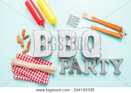 Bbq Party Sign