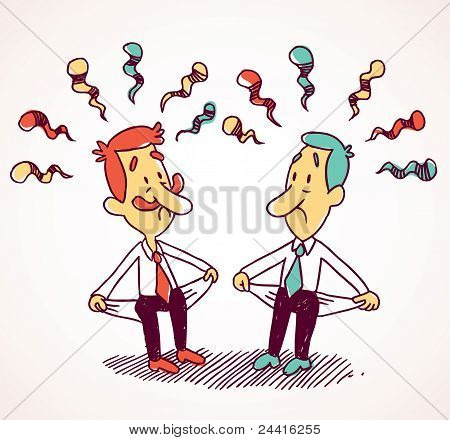 Two penniless businessman