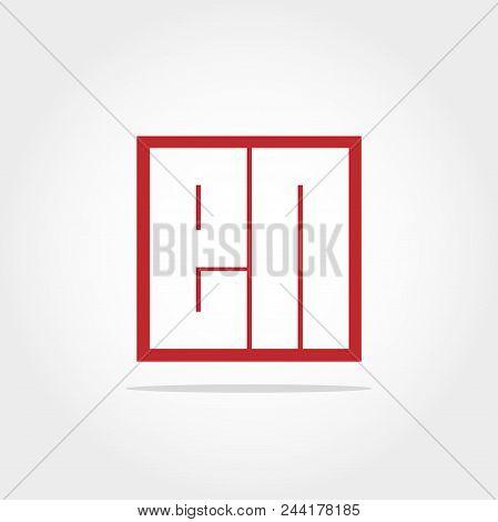 Initial Letter En Logo Template Vector Design