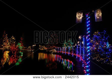 Christmas Lights Festival And Celebration At Vandusen Gardens