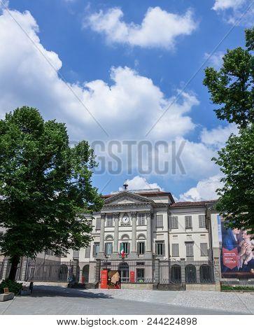 The Accademia Carrara Is An Art Gallery And An Academy Of Fine Arts In Bergamo, Italy. Bergamo, Ital