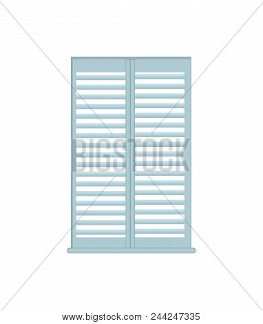 Jalousie Home Interior Object, Home Interior, And Design Element, Decoration For Windows, Decor Vect
