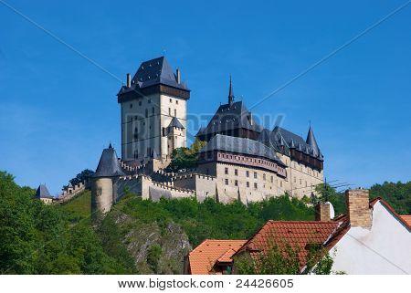 Castle Karlstejn In Bohemia