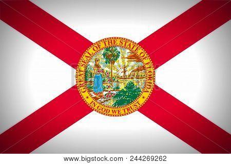 U.s. State Flag Of Florida - Background