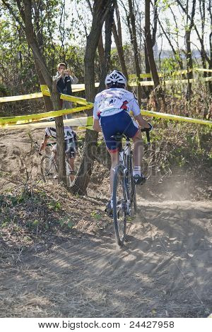 Winner Of Teenage Ciclocross Competition