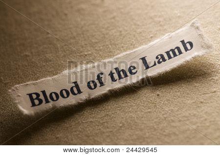 Sangre del cordero