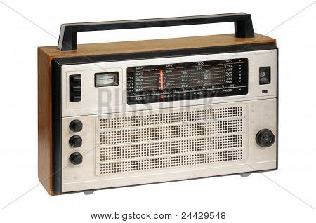 Oldfashioned retro radio