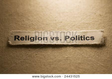 Religion vs. Politik