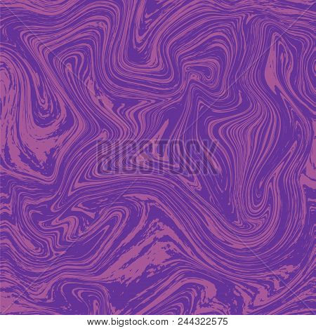 Marble Texture Background. Ink Tile. Stock Vector