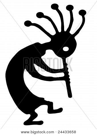 dancing kokopelli fertility symbol