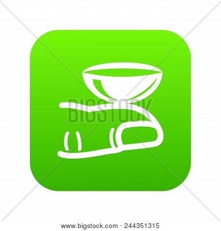Contact Lenses Icon. Simple Illustration Of Contact Lenses Vector Icon For Web