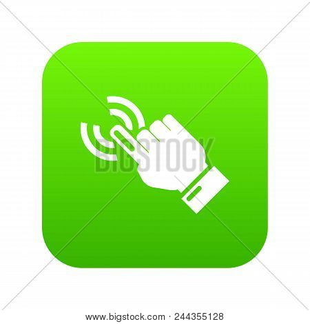 Cursor Hand Icon. Simple Illustration Of Cursor Hand Vector Icon For Web