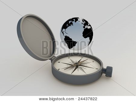 Abstract Compass